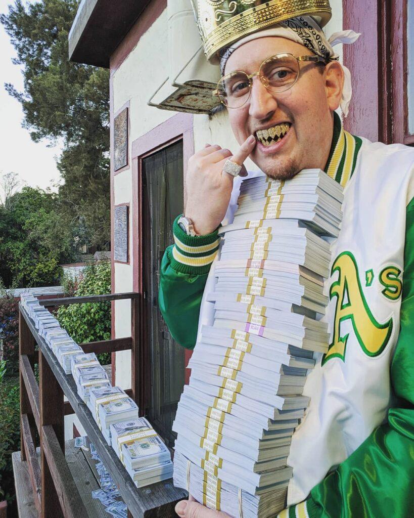 Malki Means King Money Photoshoot