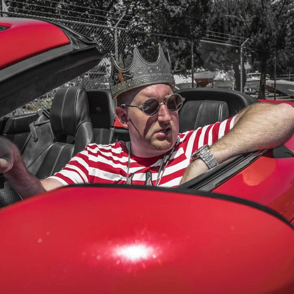 Malki Means King Aston Martin Photoshoot