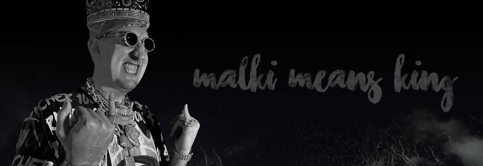 Malki Means King Website Banner